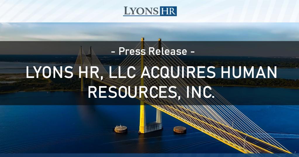 Lyons HR Acquires HRI st petes